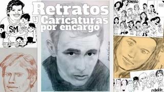 Retratos y caricaturas