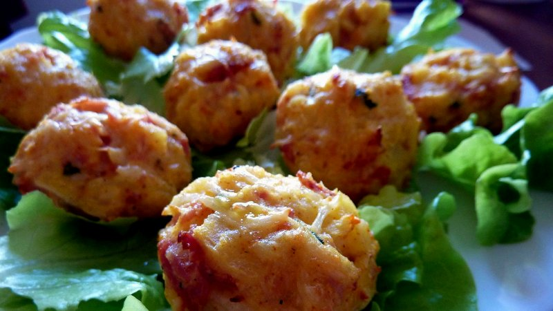 Рыбные биточки с овощами - Рецепты рыбных блюд - Ресторан дома
