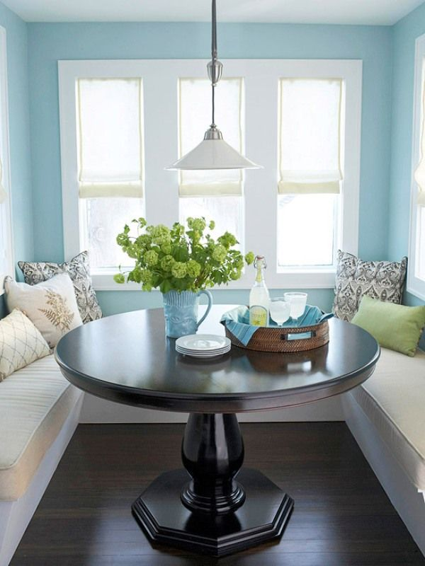 Landfair on furniture how to create a cozy breakfast nook - Kitchen corner nooks ...