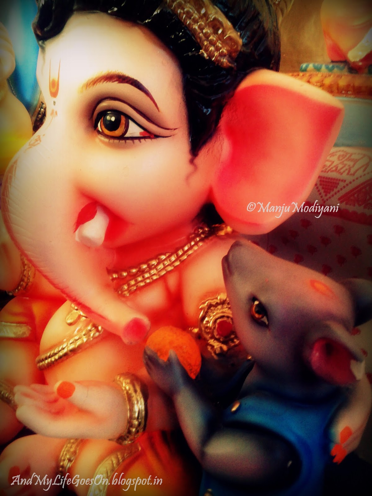 and my life goes on: welcoming lord ganesha!