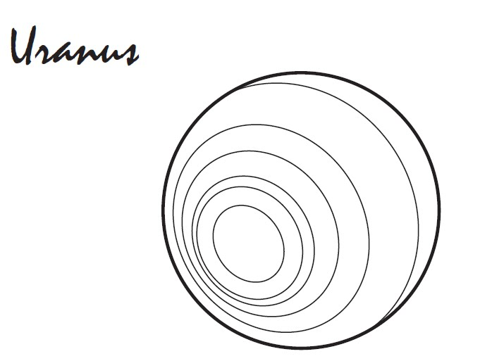 Uranus Planet Coloring Pages - Pics about space