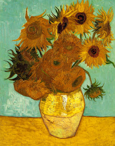 Sunflowers, third version, by Van Gogh, 1888