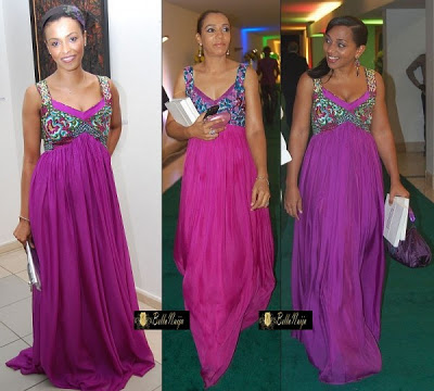 Ankara Gown With Chiffon do Ankara And Chiffon