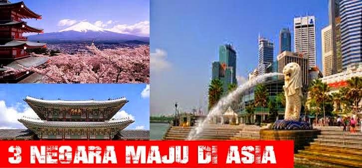 3 Negara Maju Di Asia