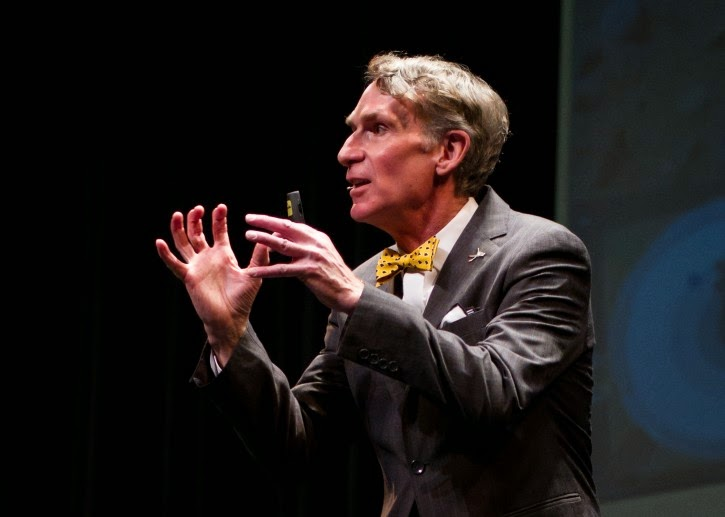 Bill Nye does not believe in God because science...
