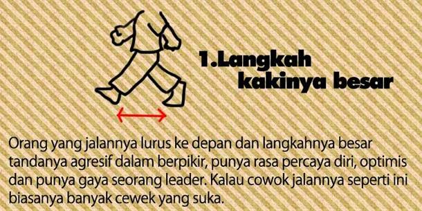 cara mengetahui karakter seseorang dari cara berjalan