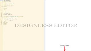 designlesseditor