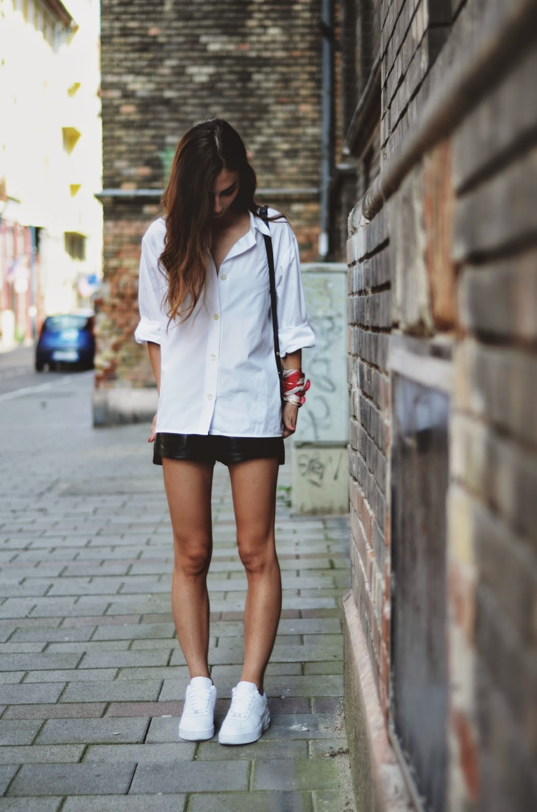 Womens Oversized White Shirt