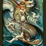'La mona i el dofí (Edward Julius Detmold)'