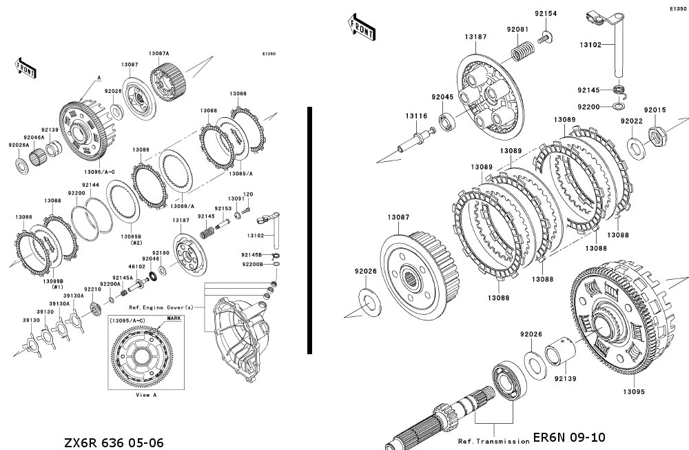 Kawasaki Zxr Exploded View