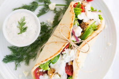 Greek Chicken Gyros, shared by Penney Lane