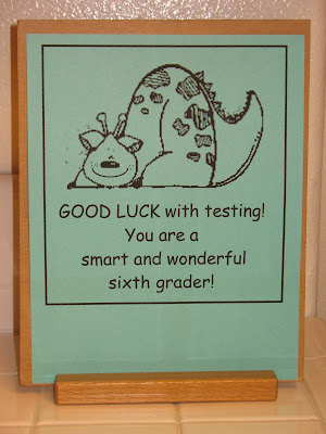 words of encouragement for kids before a test | just b.CAUSE