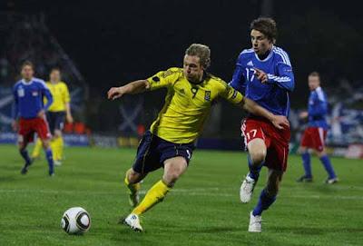 Liechtenstein 0 - 1 Scotland