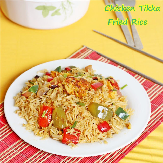 Chicken Tikka Fried Rice