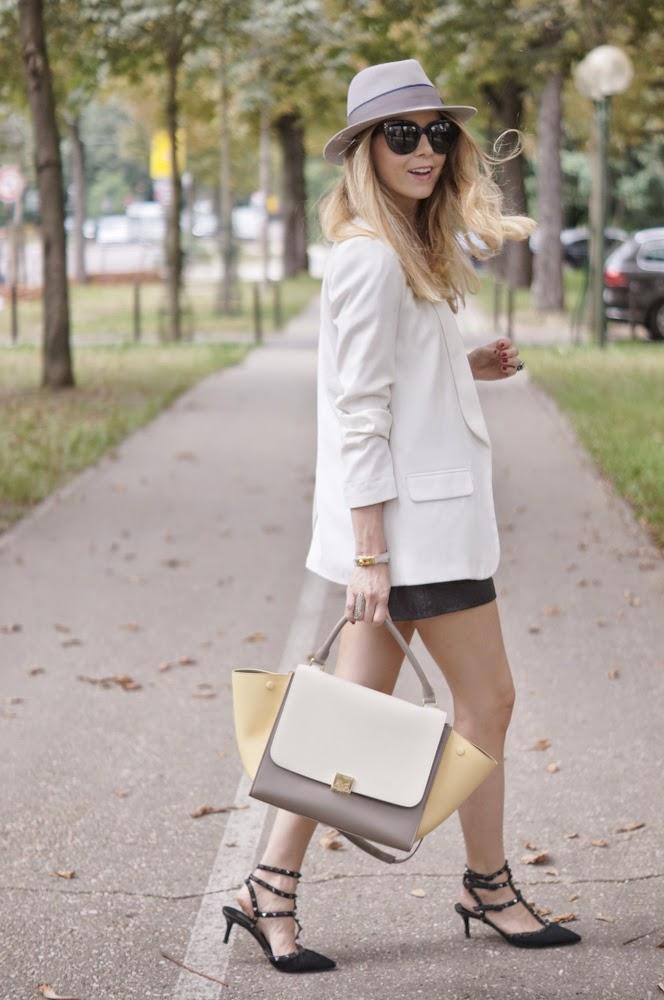 isabel marant, maison michel, céline, valentino rockstuds, fashion blogger, streetstyle, parisienne, look du jour, outfit