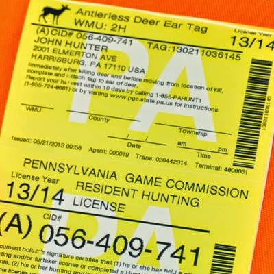Full o 39 bull gazette pa deer license sales system debate for Pa fishing licenses