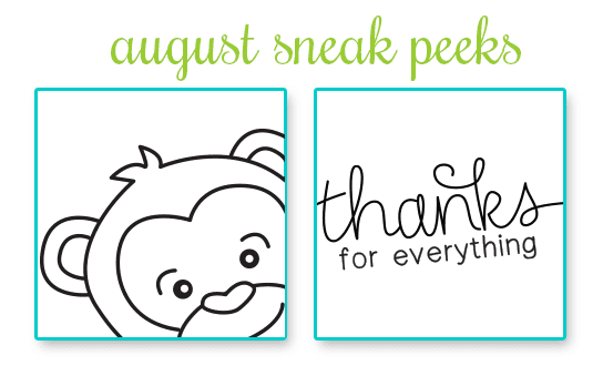 August Release Sneak Peeks | Newton's Nook Designs