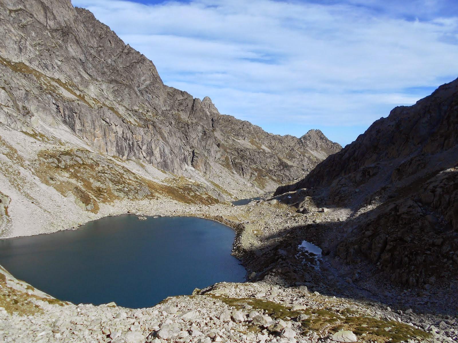 Lacs au dessus d'Arrens.