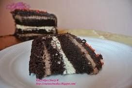 Kek Coklat Cheezy
