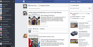 Tampilan baru facebook 2013 news feed