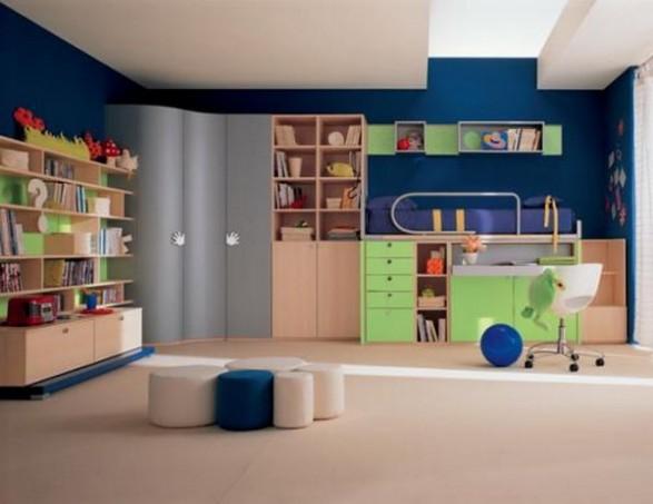 Muebles para una habitaci n infantil con mucho color - Dormitorios infantiles ninos 3 anos ...