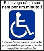 RESPEITE A VAGA!!!