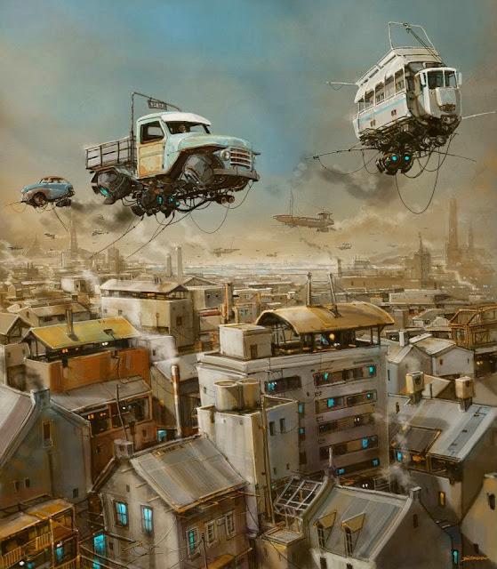 Мир прошлого с технологиями будущего