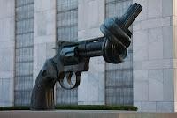 Sculpture Non-Violence