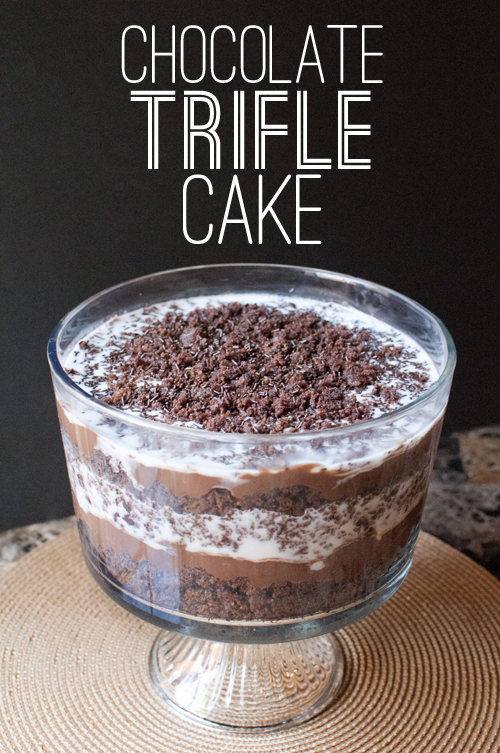 ... Banana Pancakes: the chocolate trifle - guest post from vegan fling