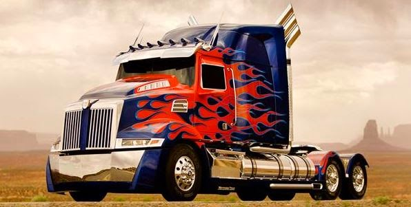 Gambar Mobil Optimus Prime Transformers 4 Ages of Extinction Autobots