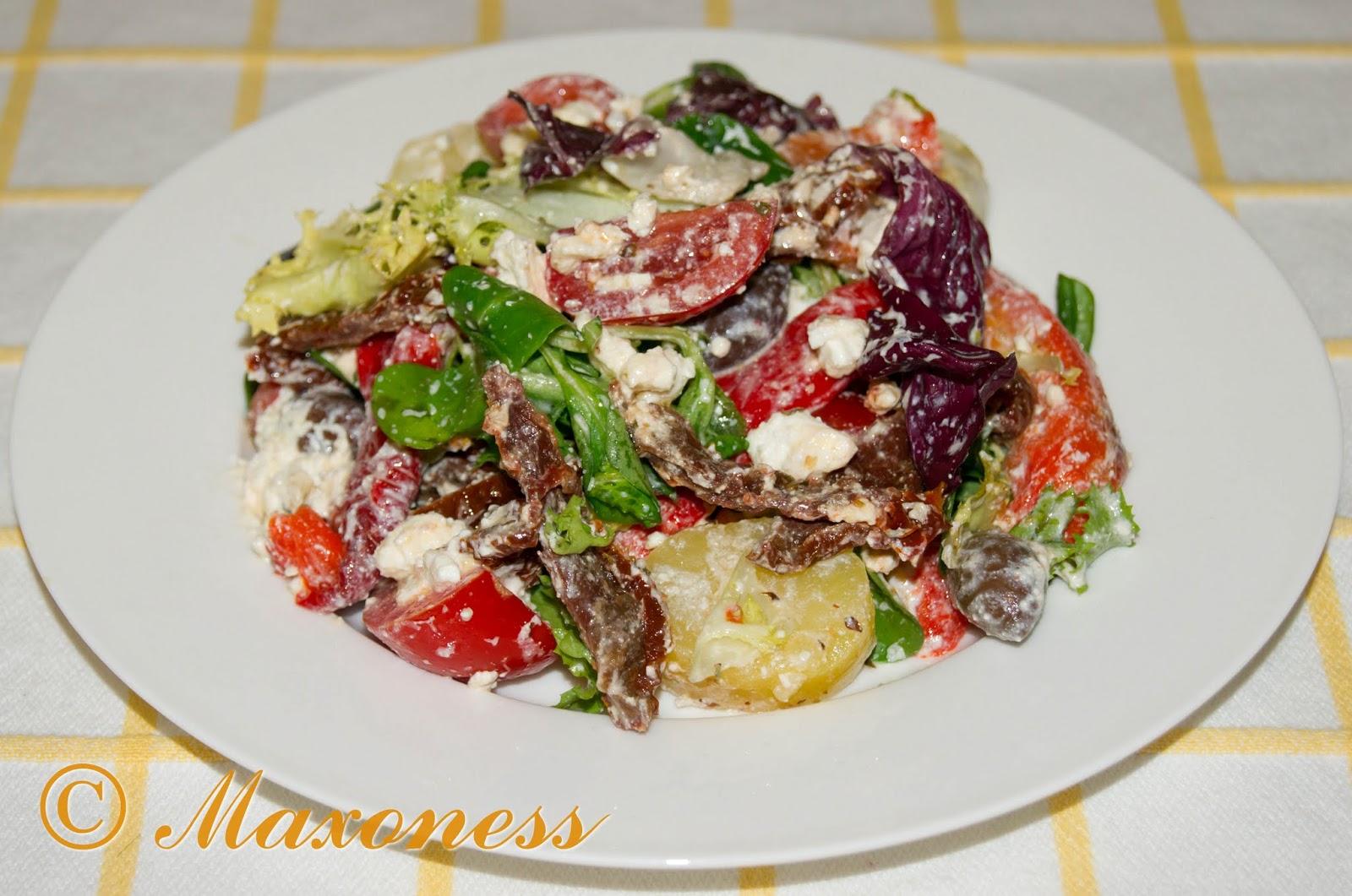 Картофельный салат в итальянском стиле