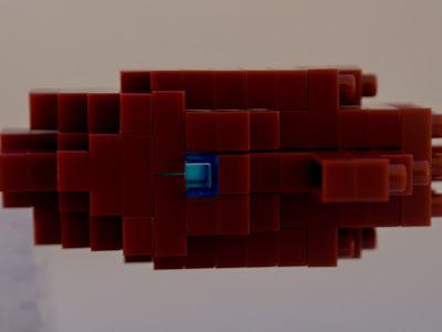 ナノブロックで作ったコウモリダコ