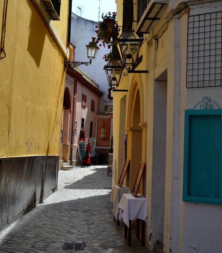 Seville sevilla jewish quarter streets