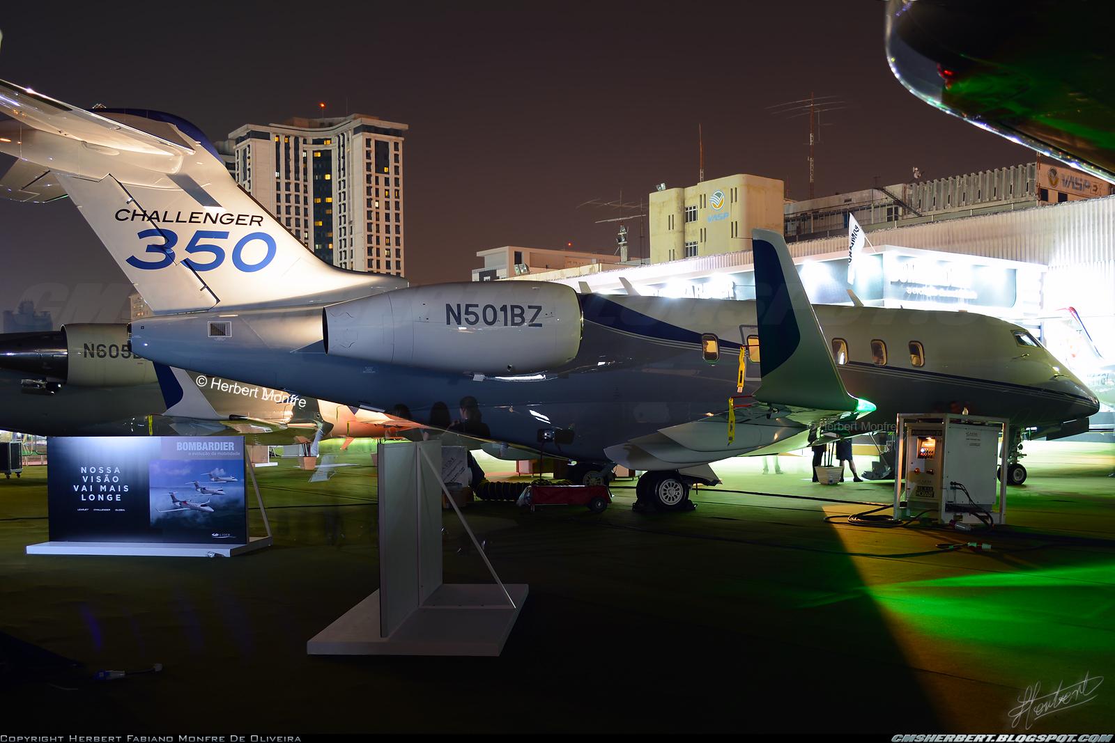 É MAIS QUE VOAR | Bombardier Challenger 350 aeronaves faz turnê na Polónia