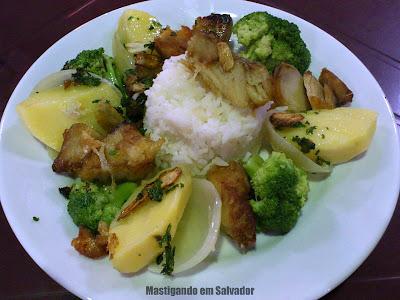 Bacalhau de Martelo Restaurante: Bacalhau a Marinheira