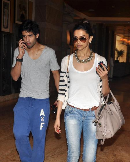 Deepika Padukone spotted with Siddharth Mallya