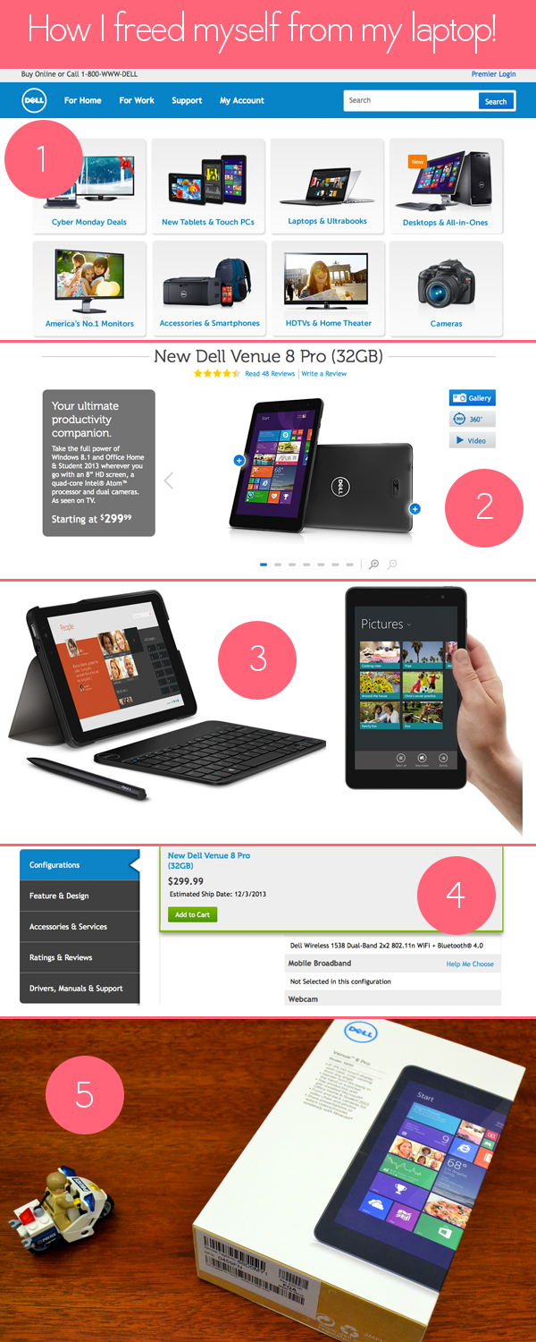 buying my new tablet!