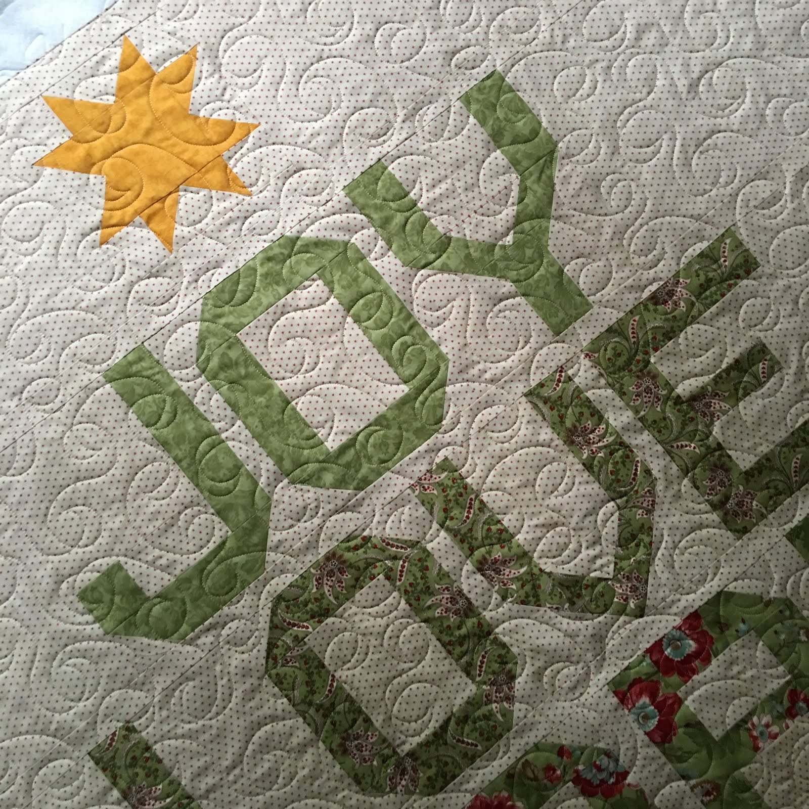 Grace and Peace Quilting: Spell It With Moda Christmas Tree Quilt : christmas tree quilt pattern moda - Adamdwight.com