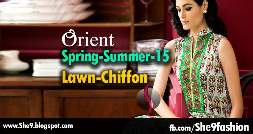 Orient Spring-Summer 2015