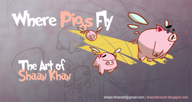 Where Pigs Fly - The Art of Shaan Khan