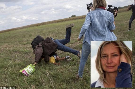 Punca Bekas Jurukamera Warga Hungary Mahu Saman Pelarian Syria dan Facebook