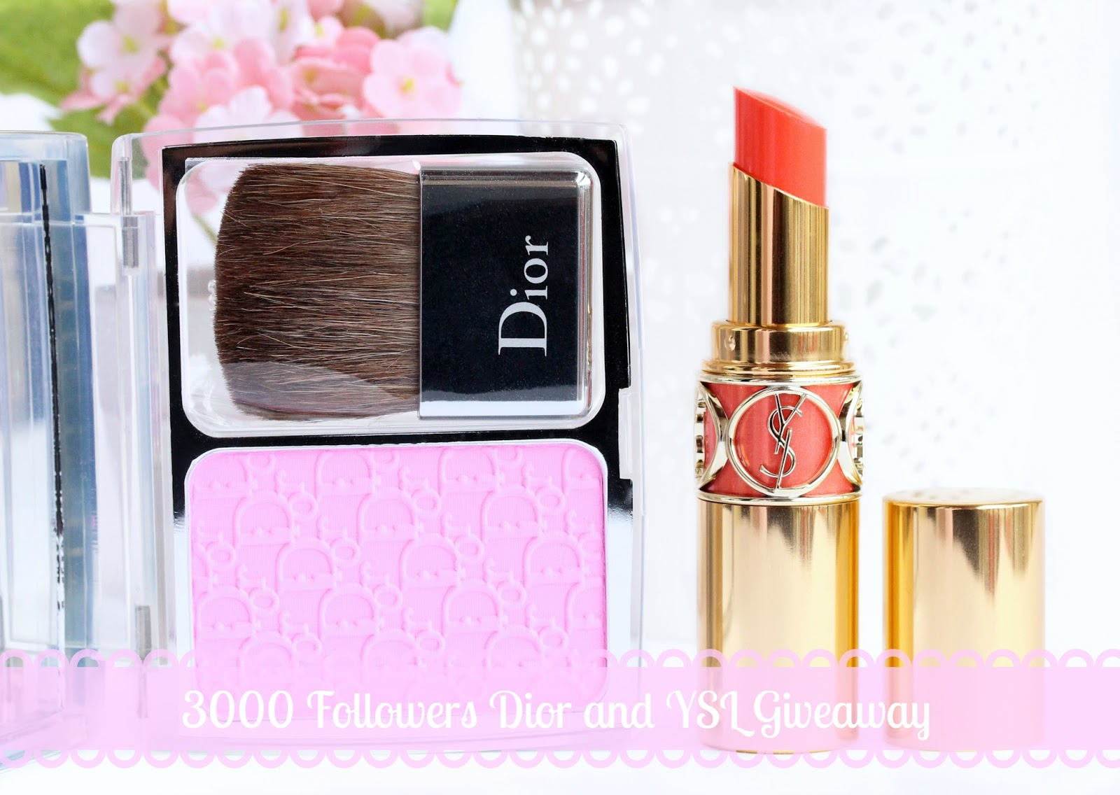 Dior and YSL giveaway