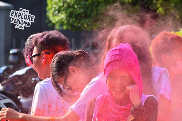 Kebumen Color Party, Color Run di Alun Alun
