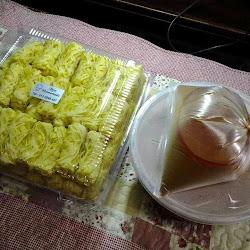 roti jala gemuk 50 pcs dan kari ayam meriah RM 50