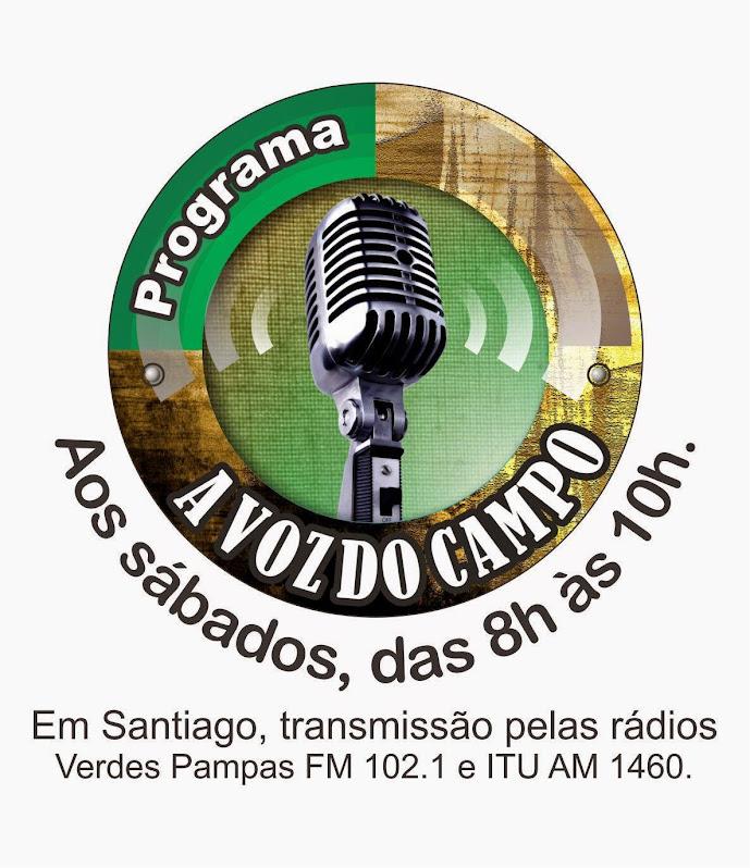 """Programa de Rádio """"A Voz do Campo"""""""