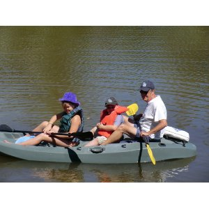 Let 39 s go fly fishing lifetime sport fisher kayak with for 10 foot fishing kayak