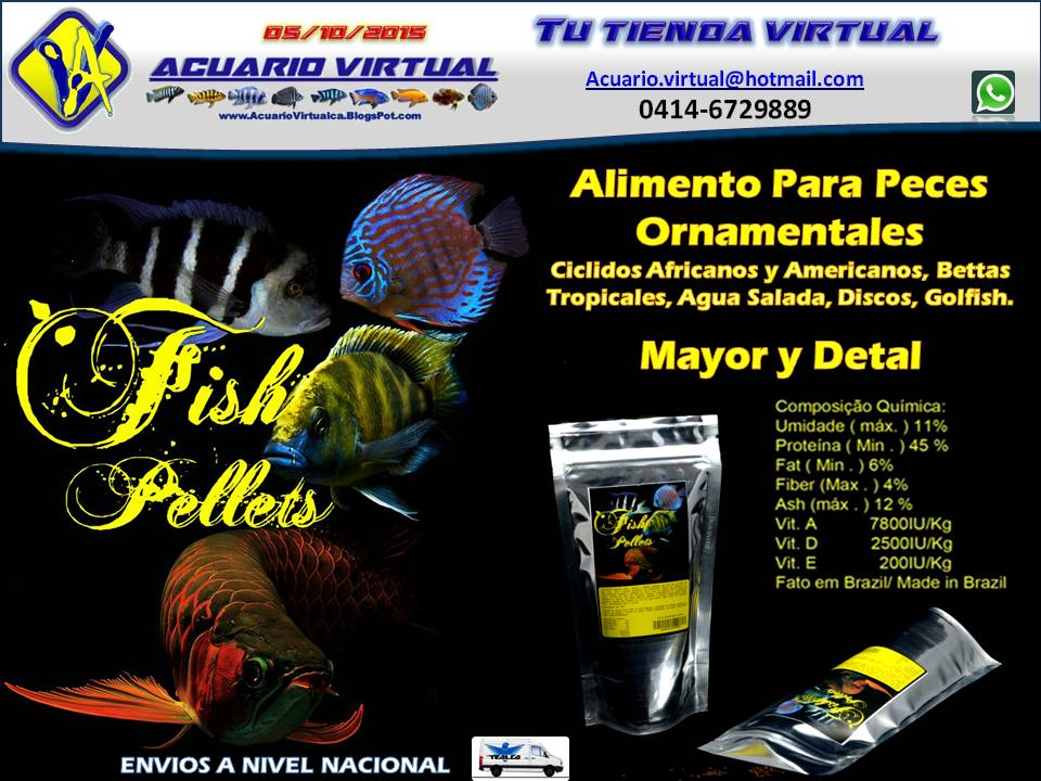acuario virtual stock alimento para peces