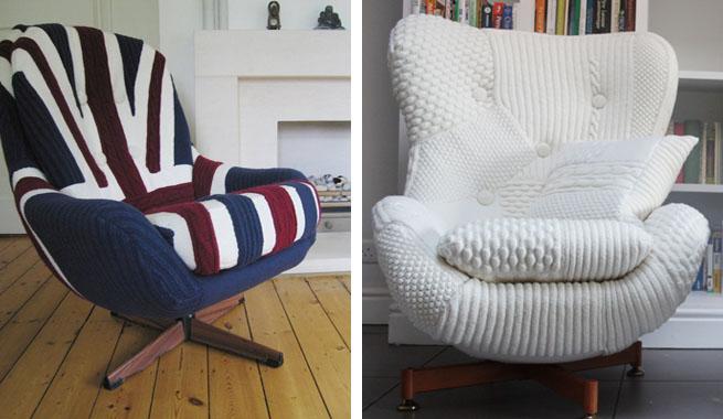 Neo arquitecturaymas puffs sillas y sof s con tejido de for Sofas y punto