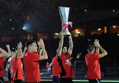números de la temporada 14/15 del Sevilla FC