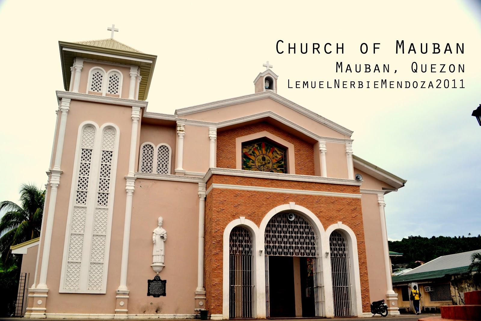 Mauban Philippines  city photos : Iglesias de las Filipinas: MAUBAN, Quezon: Church of Mauban